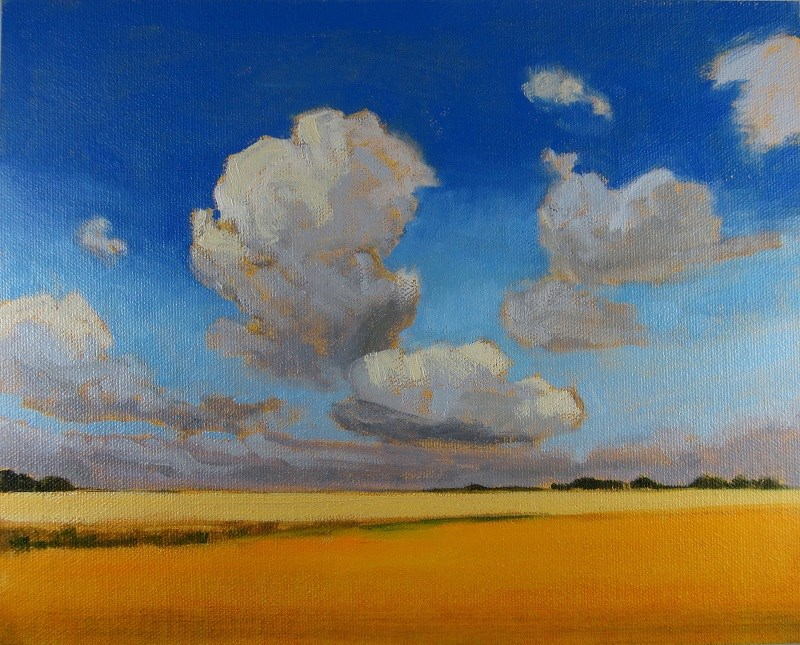 """This Is Saskatchewan"" original fine art by Nicki Ault"