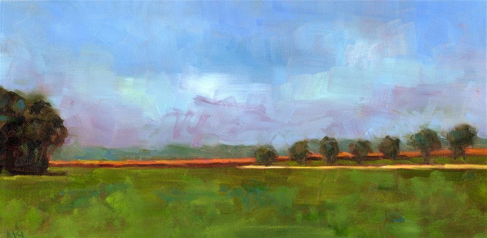"""""""Fong Farms"""" original fine art by Marlene Lee"""