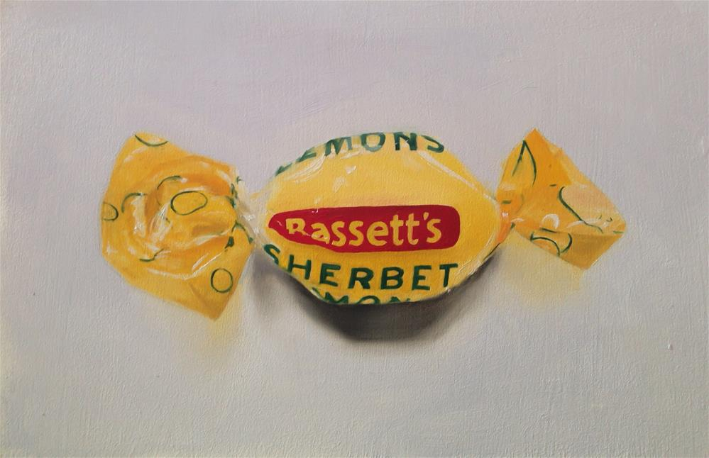 """Sherbet Lemon"" original fine art by James Coates"