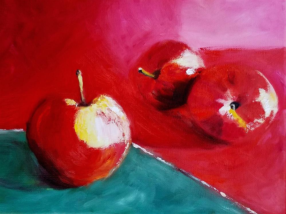 """Sensual Temptation"" original fine art by Anne Pekie"