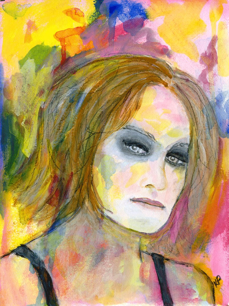 """Affected"" original fine art by Kali Parsons"