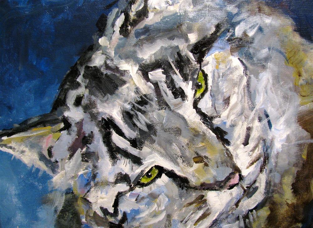 """""""Sweet Kitty"""" original fine art by Susan Elizabeth Jones"""