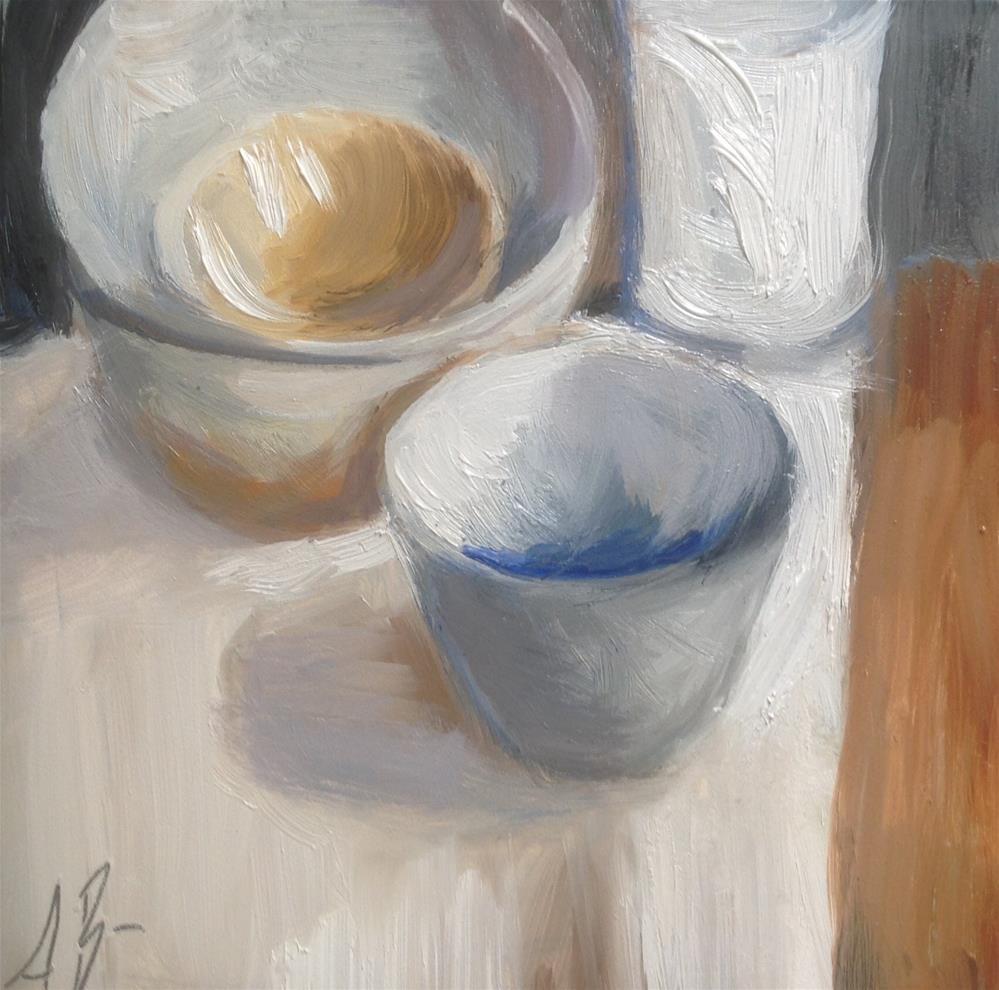 """Pottery"" original fine art by Annette Balesteri"