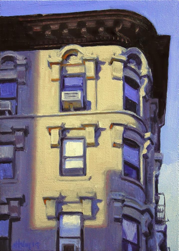 """The Corner Curve"" original fine art by Ski Holm"