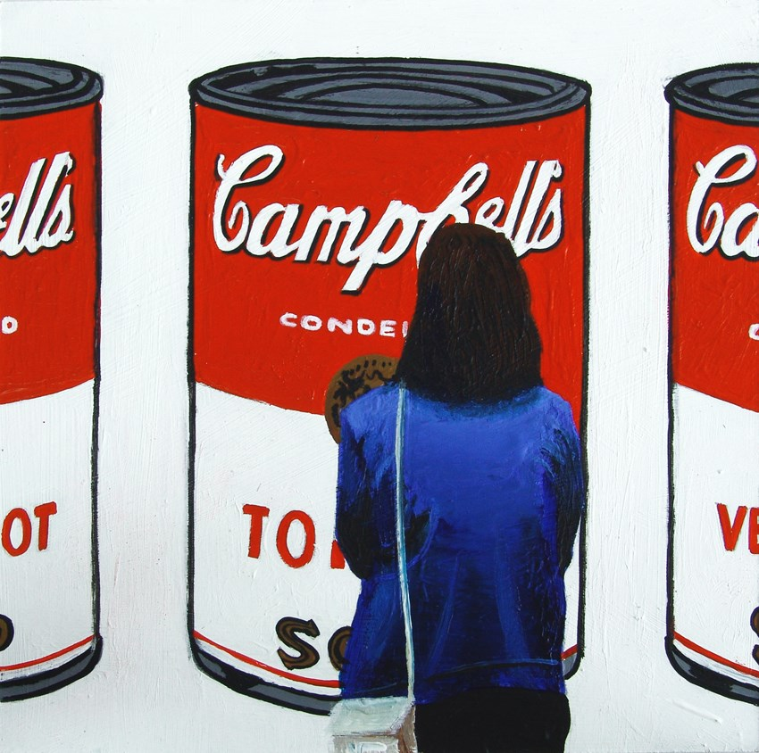 """Winner Campbell Soup Painting"" original fine art by Gerard Boersma"