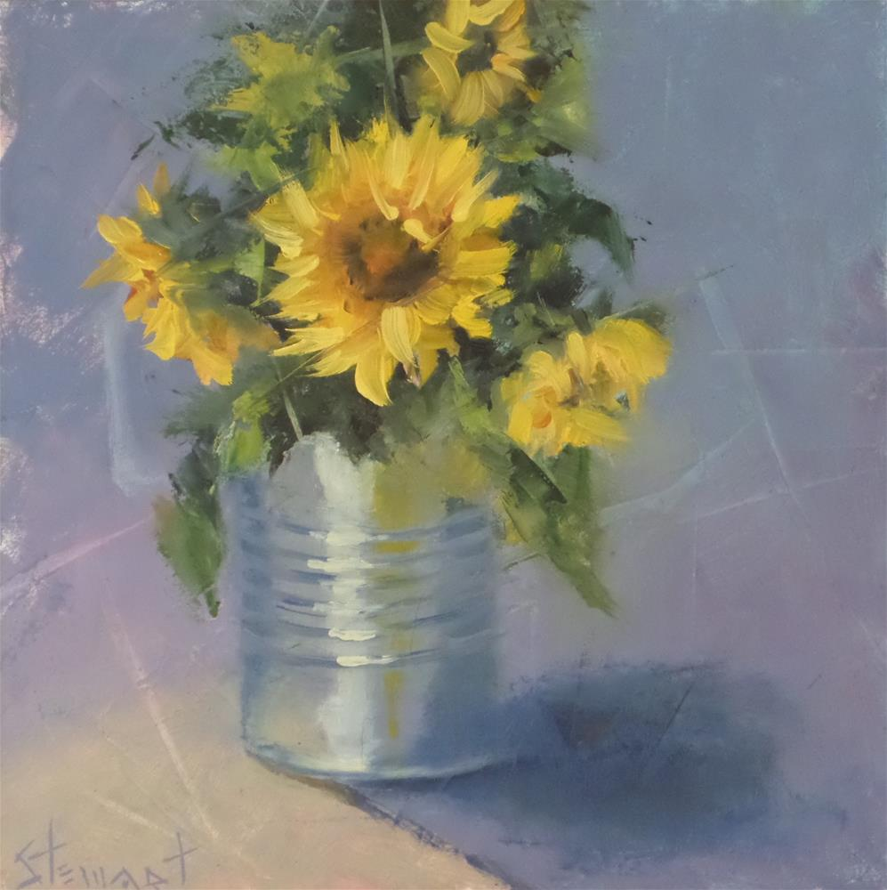 """""""Liquid Sunshine"""" original fine art by Kris Stewart"""