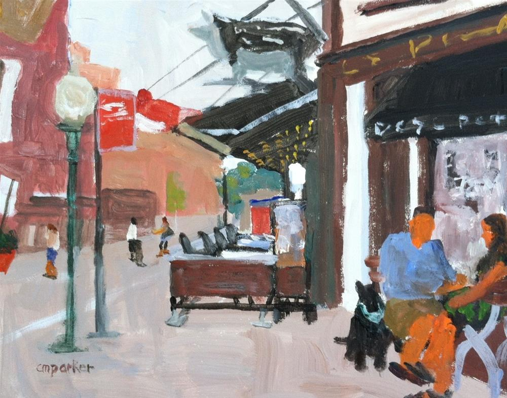 """""""Meatpacking District NYC"""" original fine art by Christine Parker"""