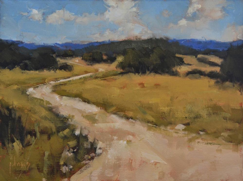 """""""Long View"""" original fine art by Julie Davis"""