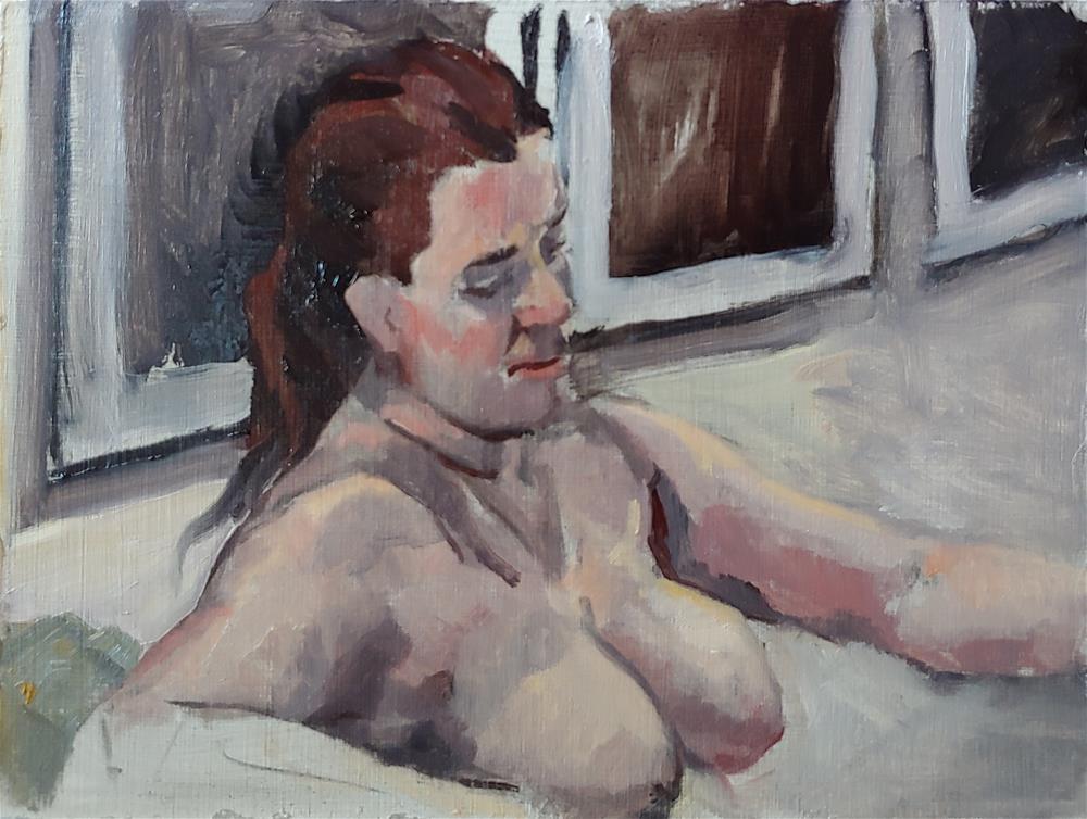 """Figure Friday - 02/28/2020"" original fine art by Edward Watson"