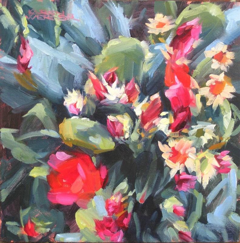 """""""Bloomin'"""" original fine art by Karen Werner"""
