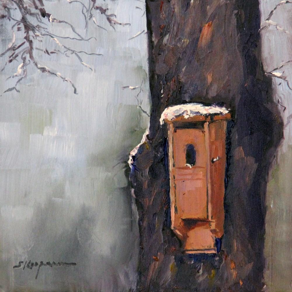 """Studio Apt for Rent; No Utilities"" original fine art by Shelley Koopmann"