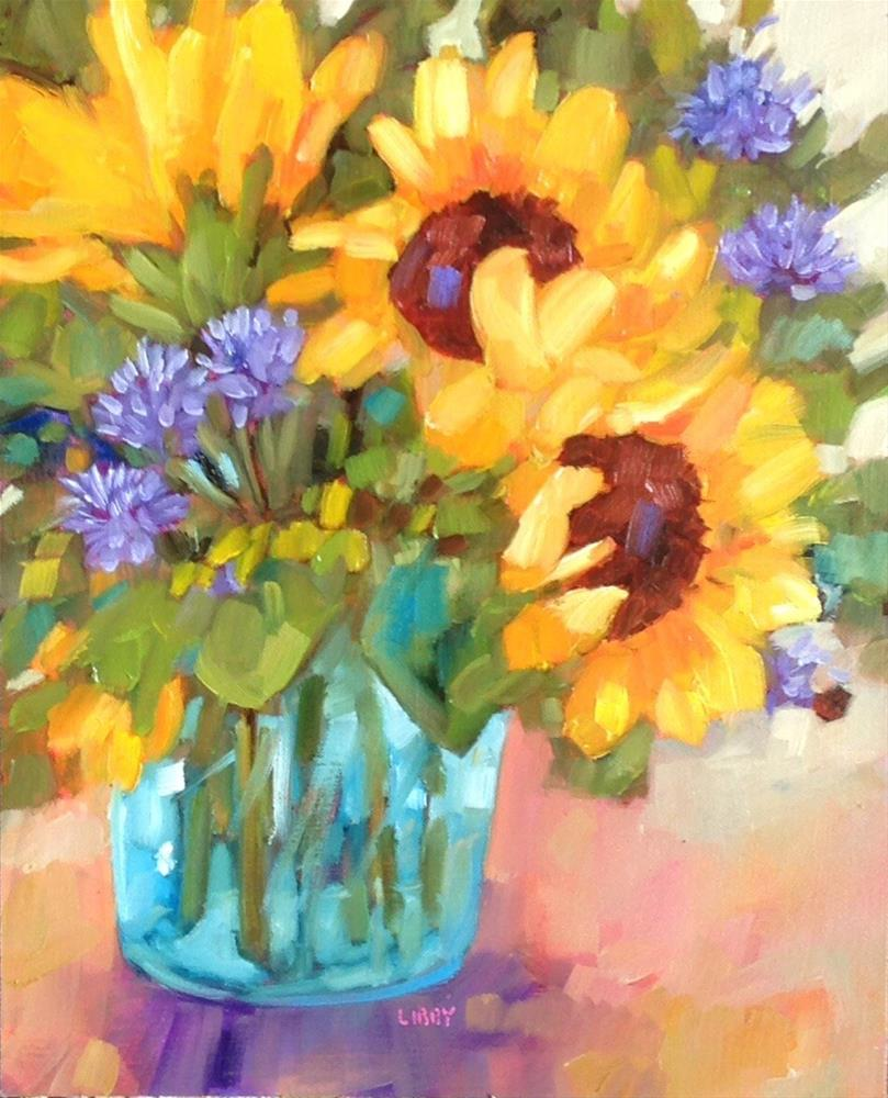 """Sunny Morning"" original fine art by Libby Anderson"