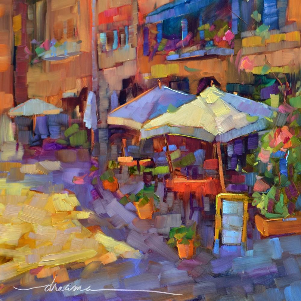 """""""In the Company of Friends  SOLD"""" original fine art by Dreama Tolle Perry"""