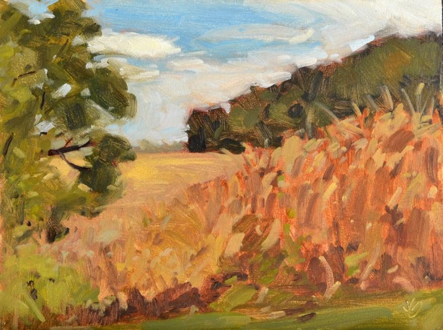 """Harvest"" original fine art by Jessica Green"