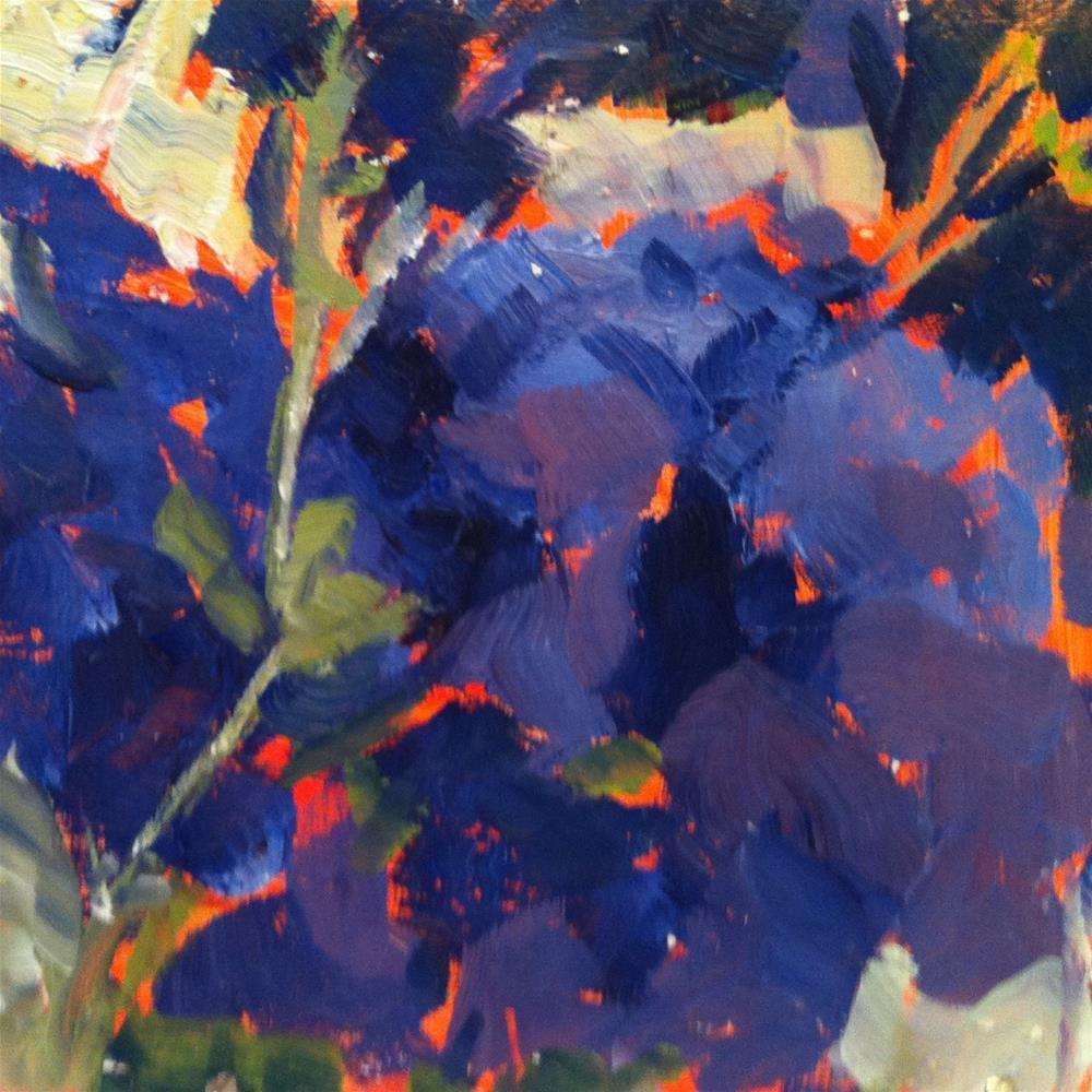 """Heavenly Hydrangea"" original fine art by Libby Gilpatric"
