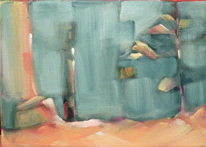 """Forest 5"" original fine art by Cheryl Wilson"