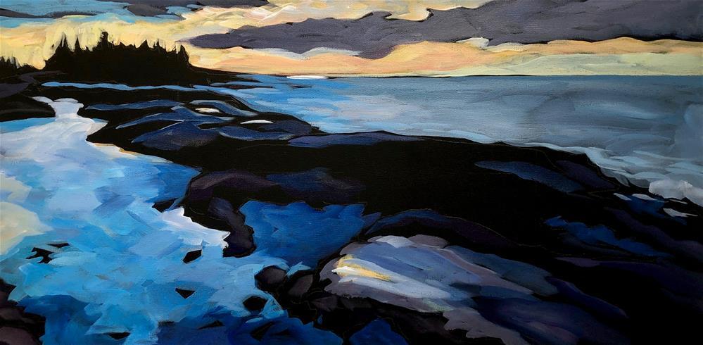 """The Light Spills Over"" original fine art by Kat Corrigan"