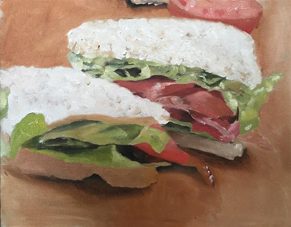 """BLT"" original fine art by James Coates"