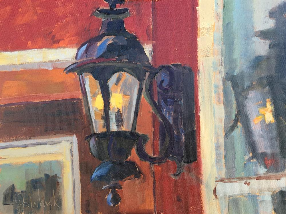 """Window Reflection"" original fine art by Pam Holnback"