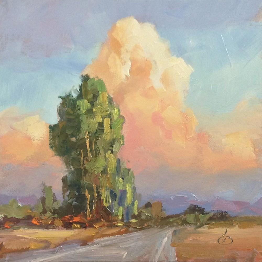 """""""NATURE'S GRANDEUR"""" original fine art by Tom Brown"""
