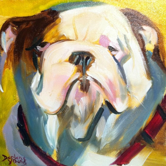 """Aristrocrat"" original fine art by Darlene Young"