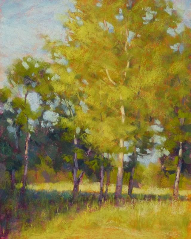 """Evening Glade"" original fine art by Rita Kirkman"