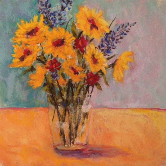 """""""Flowers"""" original fine art by Angeli Petrocco Coover"""