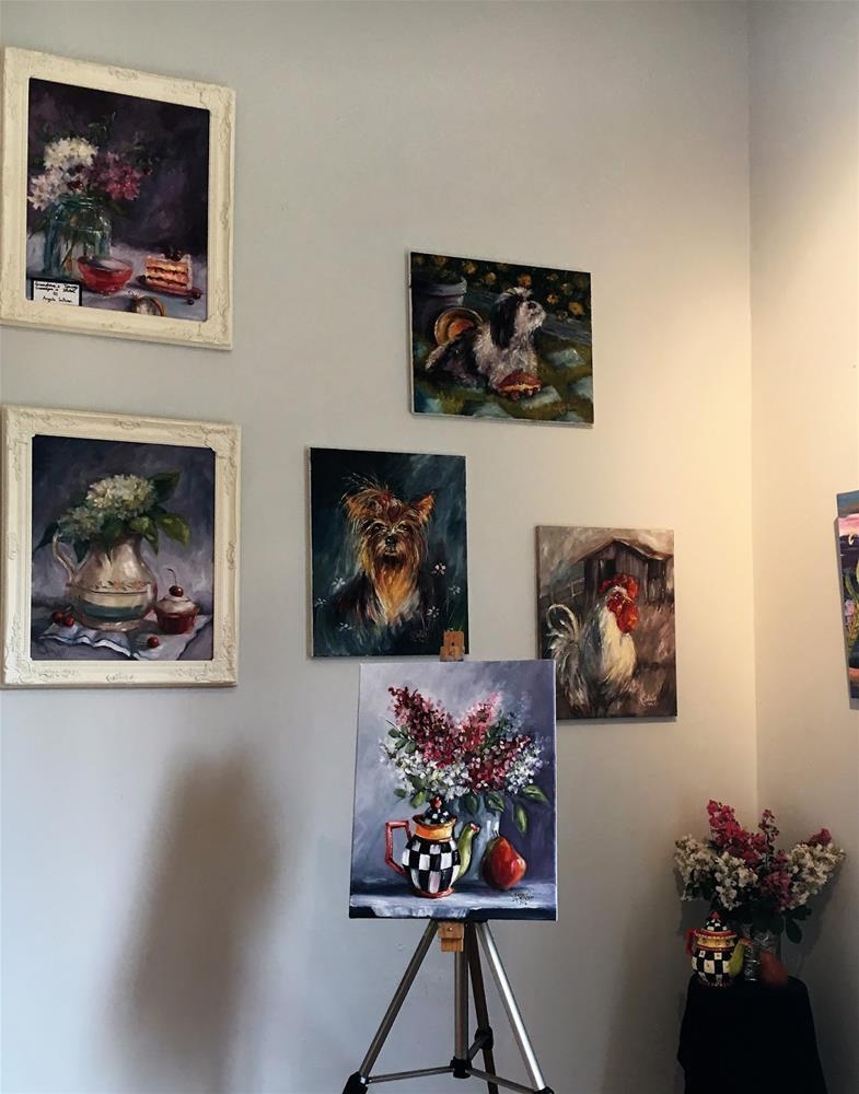 """Southern Charm still life painting by Alabama Artist Angela Sullivan"" original fine art by Angela Sullivan"