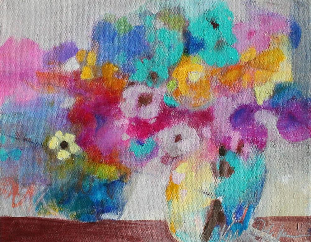 """Splash of Color"" original fine art by Kerri Blackman"