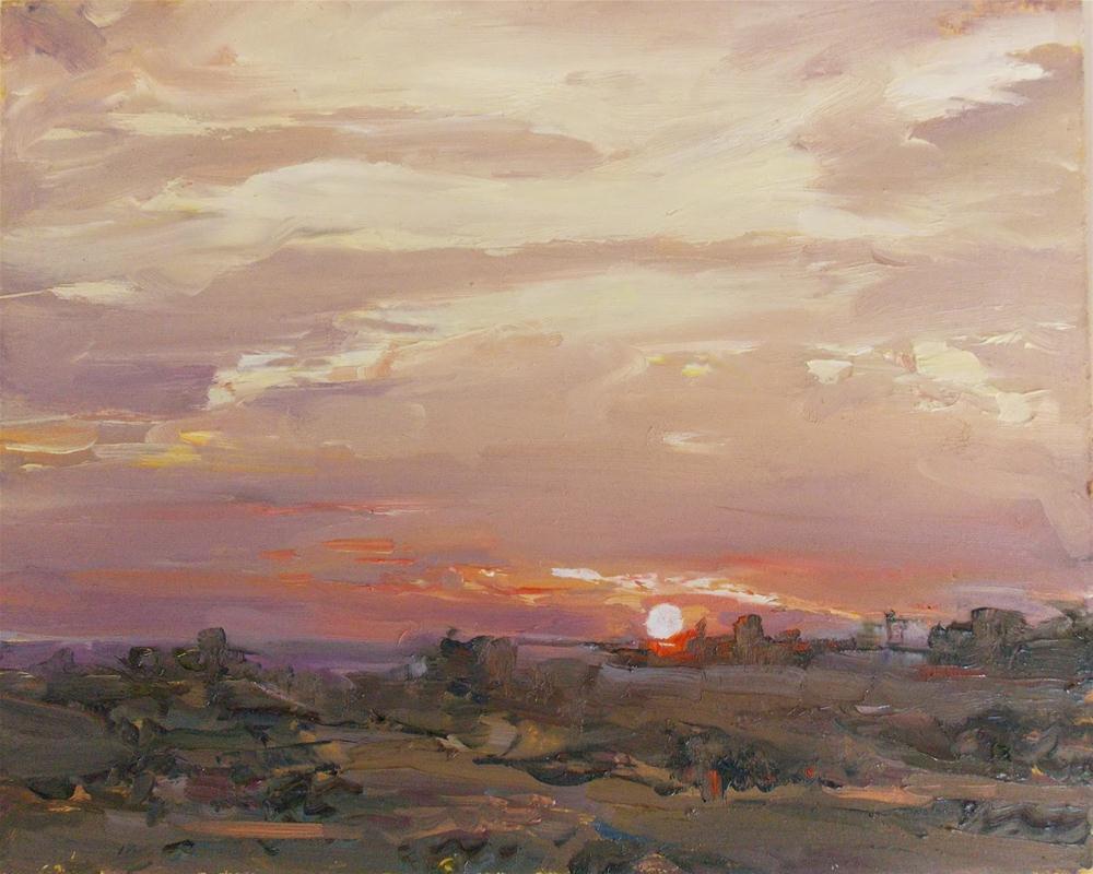 """Looking Westward "" original fine art by Doug Carter"