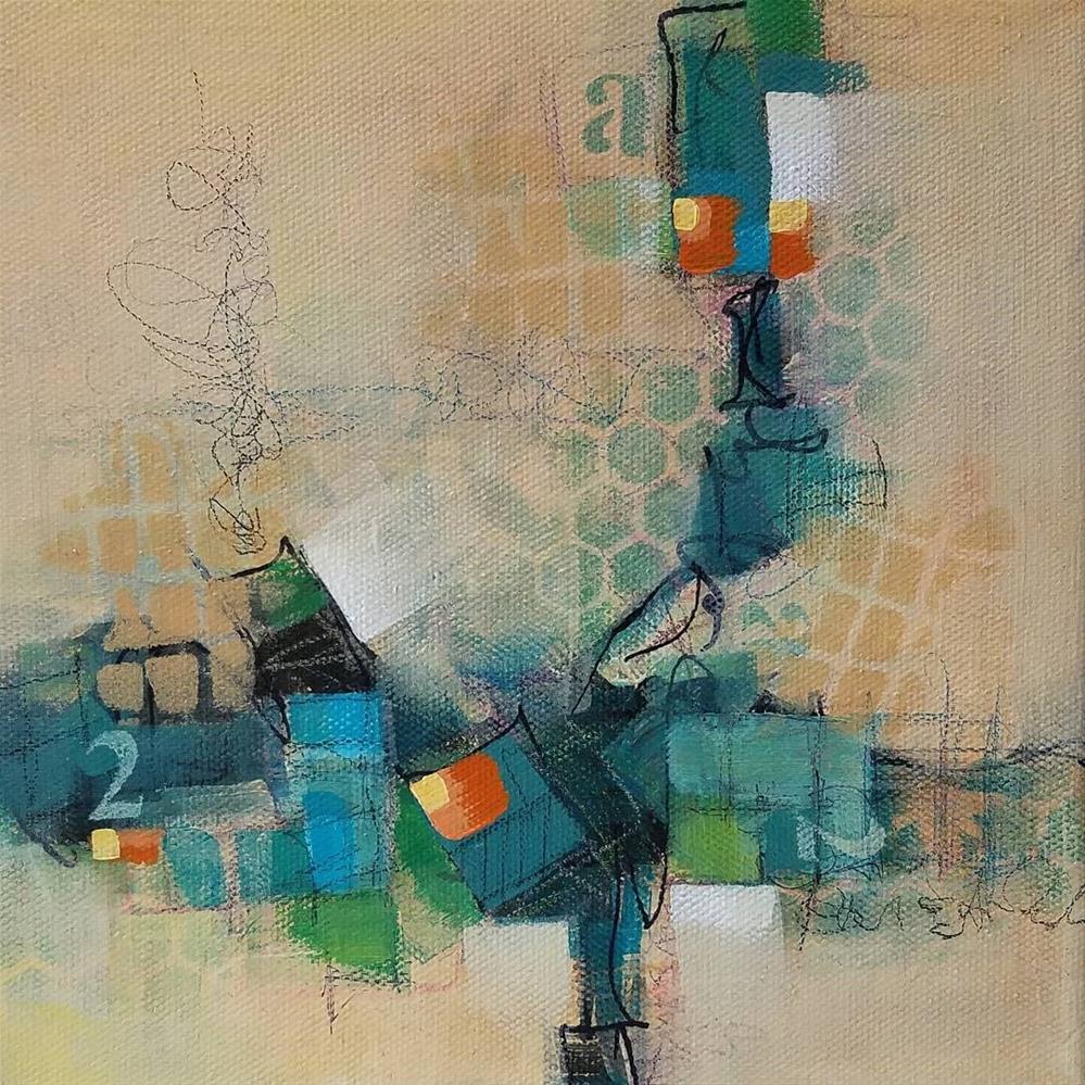 """A2 North"" original fine art by Cindy Haase"