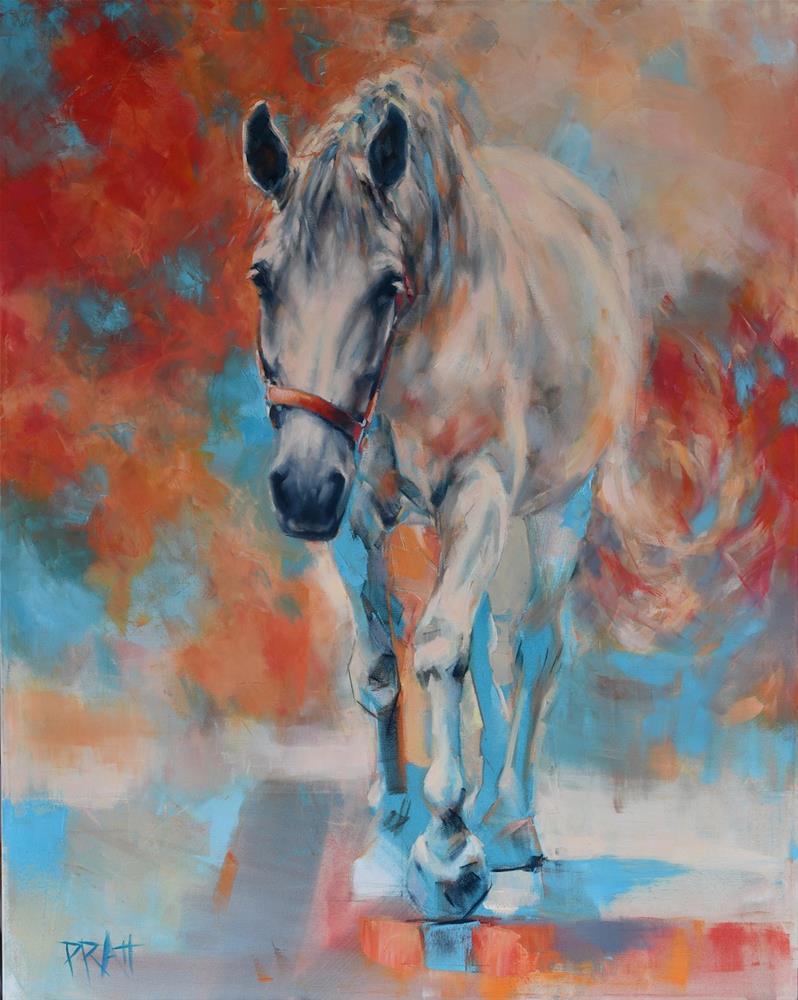 """Emerge #1"" original fine art by Jennifer Pratt"