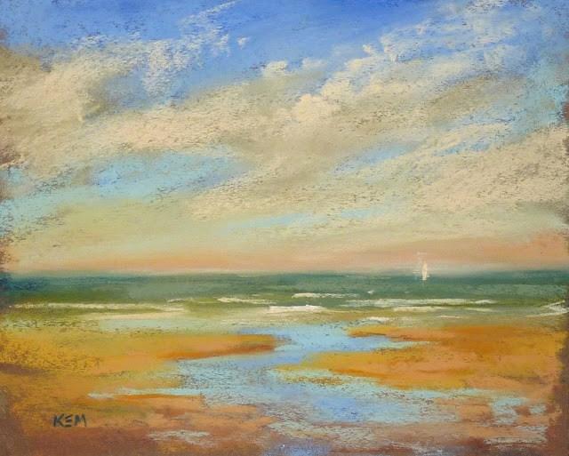 """The Value of Plein Air Painting"" original fine art by Karen Margulis"