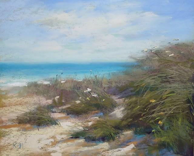 """How To Start a Stronger Painting"" original fine art by Karen Margulis"