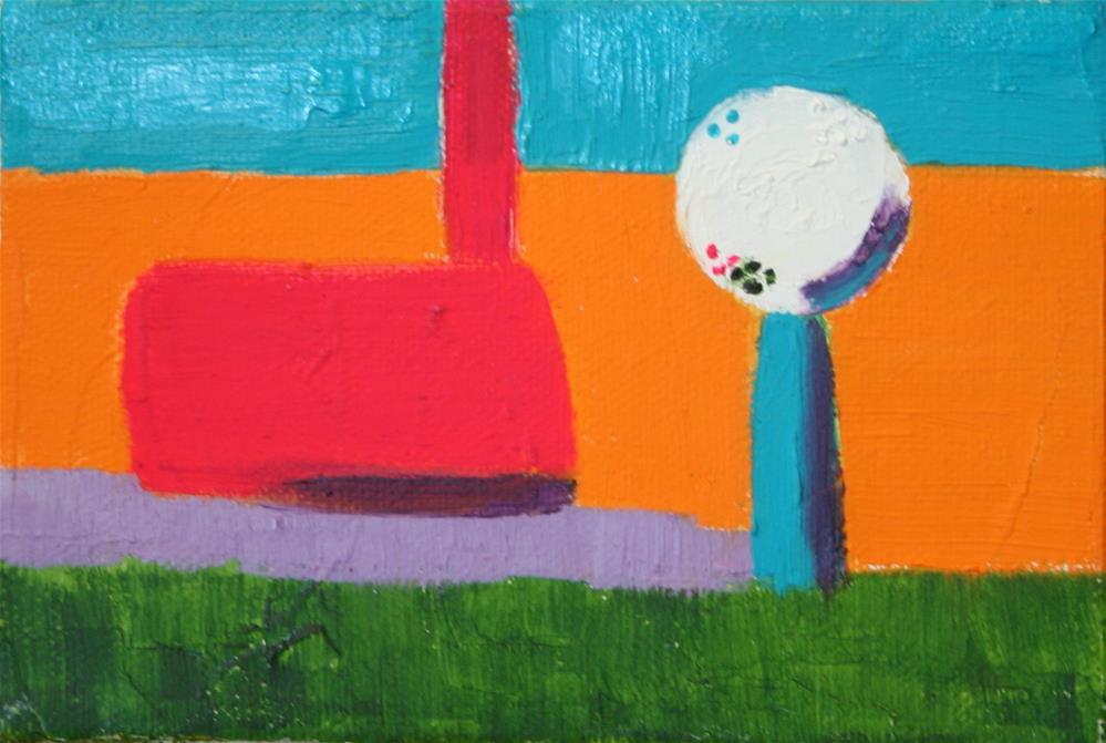 """""""Drive It - Abstract"""" original fine art by Karen Gehse"""