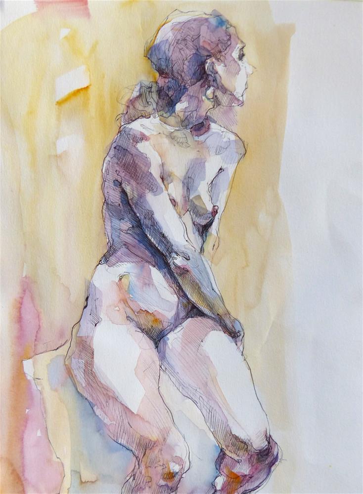 """sketchbook14"" original fine art by Katya Minkina"