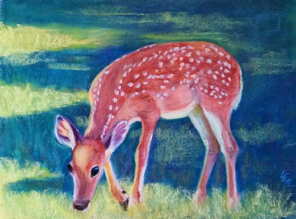 """Browsing Beauty"" original fine art by Anna Lisa Leal"