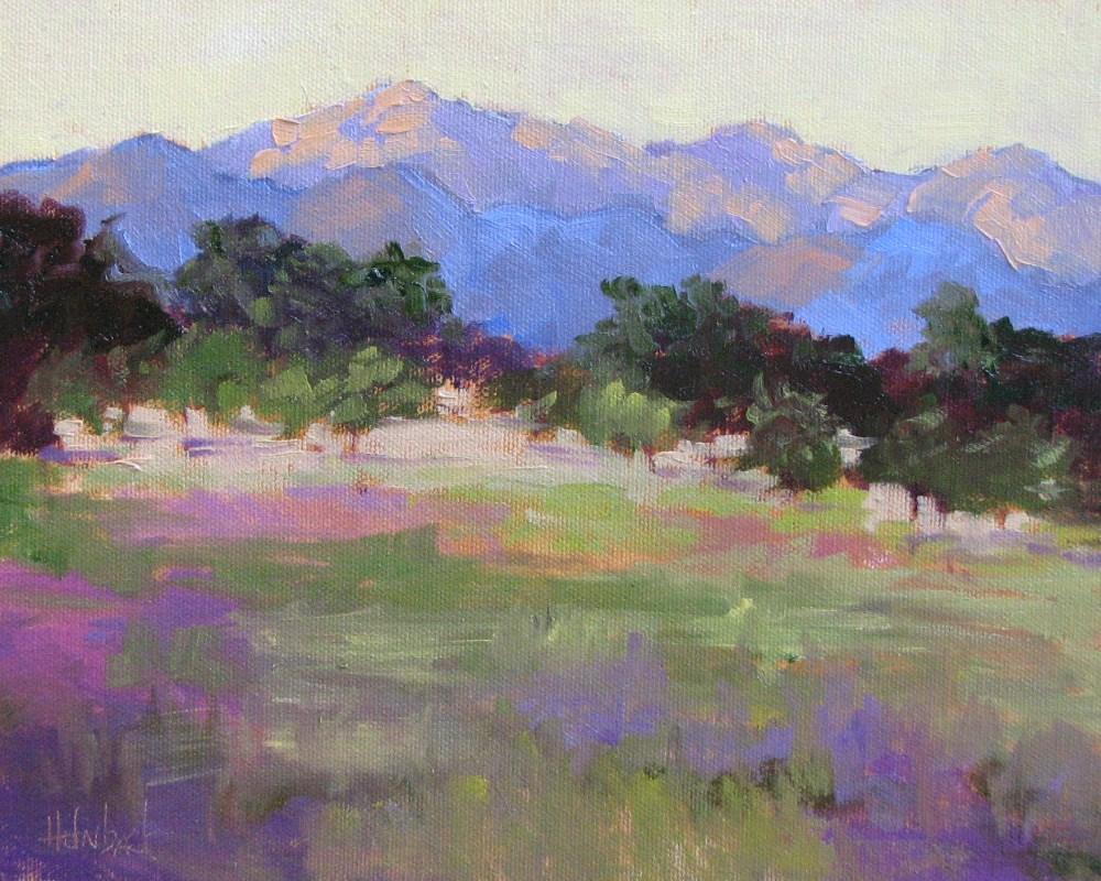 """""""Bear Creek Meadow"""" original fine art by Pam Holnback"""