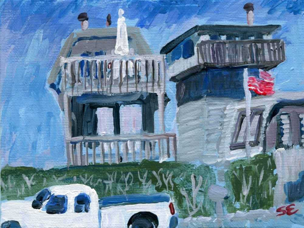 """""""Rooms With Views"""" original fine art by Stanley Epperson"""