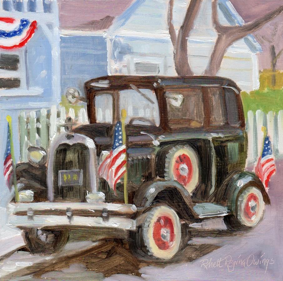 """Ready for the Parade"" original fine art by Rhett Regina Owings"