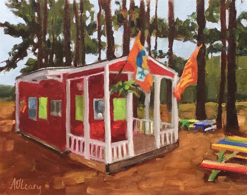 """""""Mississippi Sno"""" original fine art by Alice O'Leary"""