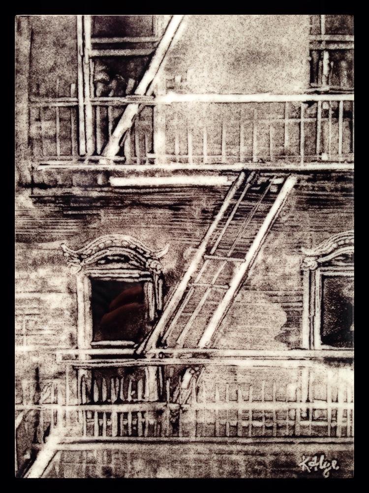 """Escape"" original fine art by Kelly Alge"