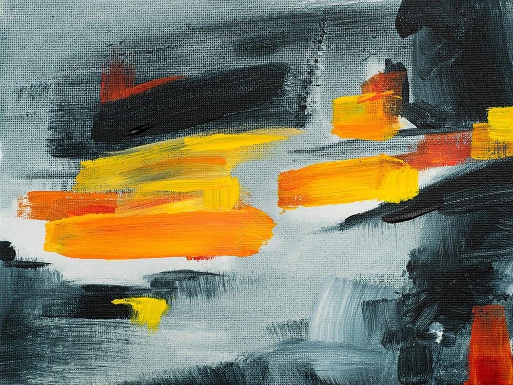 """""""Storm"""" original fine art by Franziska Schwade"""