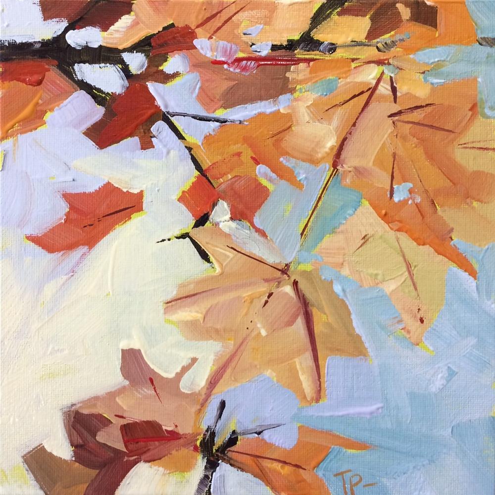 """Fall Foliage"" original fine art by Teddi Parker"