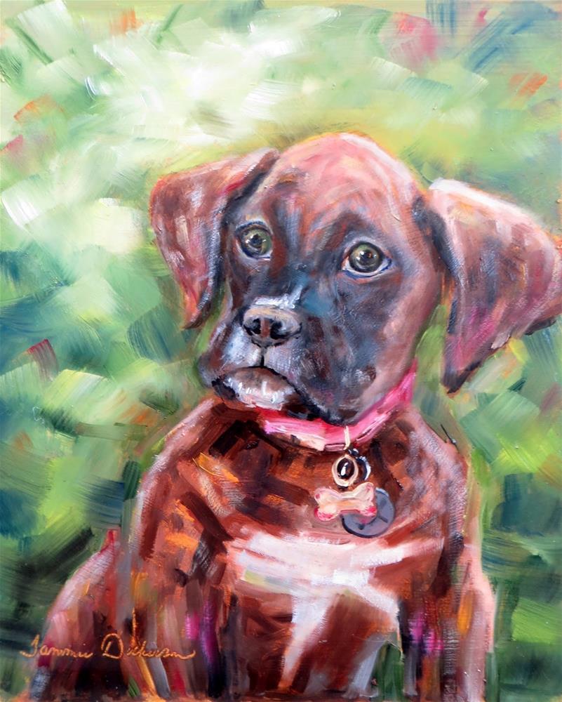 """""""Ruby in Carmel"""" original fine art by Tammie Dickerson"""