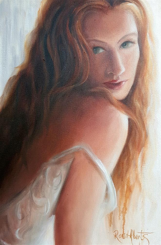 """Lacy seduction"" original fine art by Ronel Alberts"
