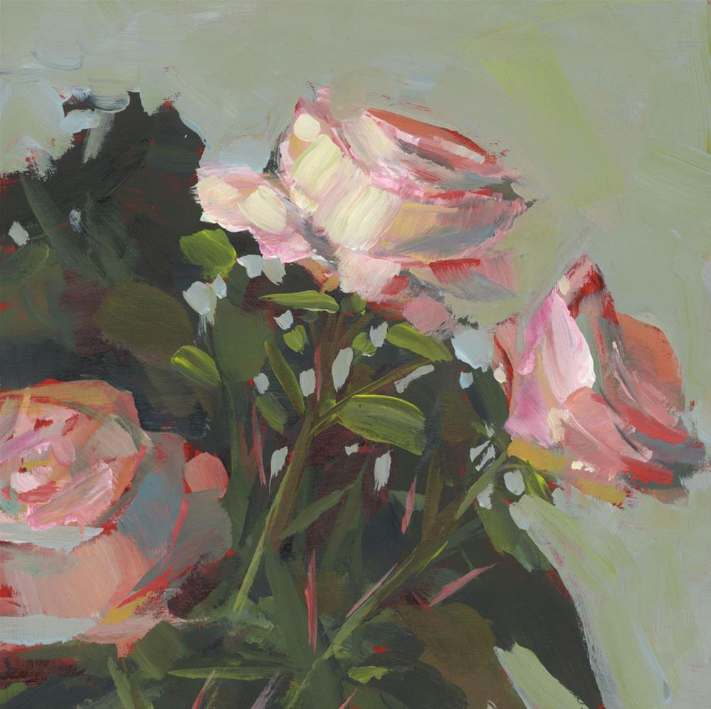 """""""1062: Just the Roses"""" original fine art by Brian Miller"""