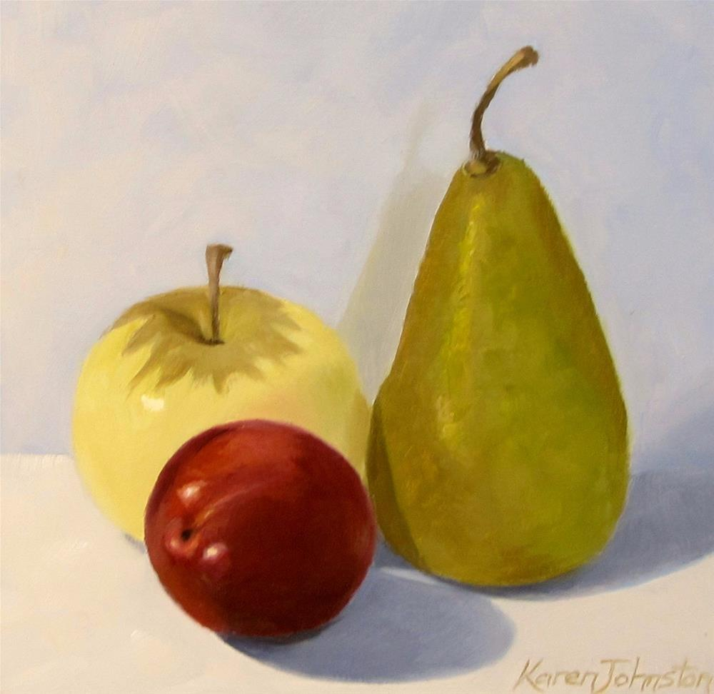 """Summer Fruits"" original fine art by Karen Johnston"