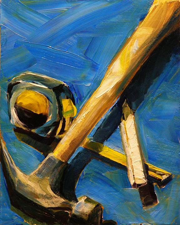 """BOY TOYS"" original fine art by Brian Cameron"