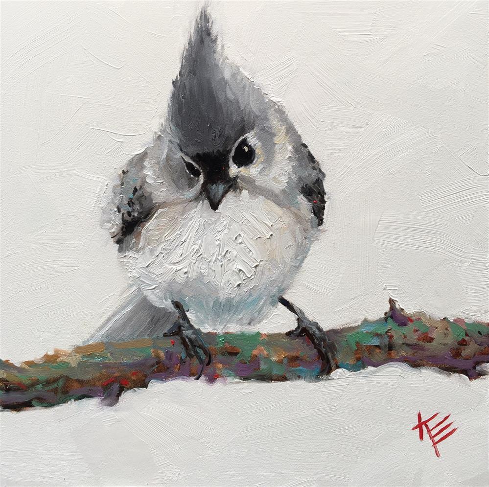 """Early Bird"" original fine art by Krista Eaton"